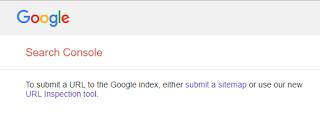 Cara Mengatasi Submit URL Google Yang Tidak Bisa