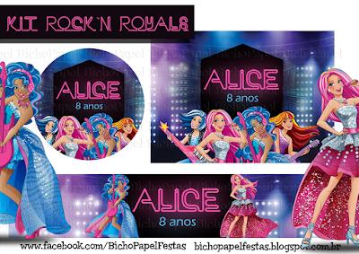 Kit Barbie Rock'n Royals
