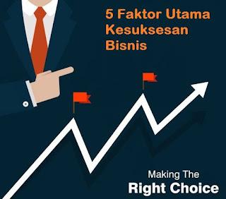 5 Faktor Utama Kesuksesan Bisnis