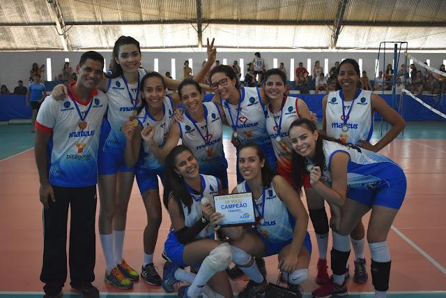 Faculdade Pitágoras domina a X Copa Primavera de Voleibol