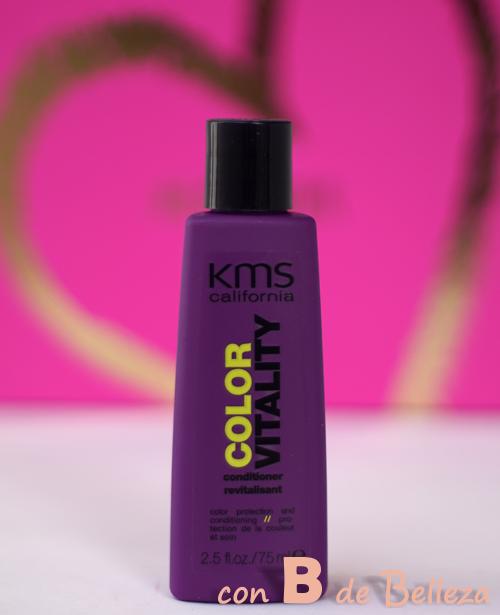 Acondicionador Color vitality de KMS