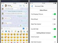 BBM Like iOS Versi 3.3.12.135 Apk