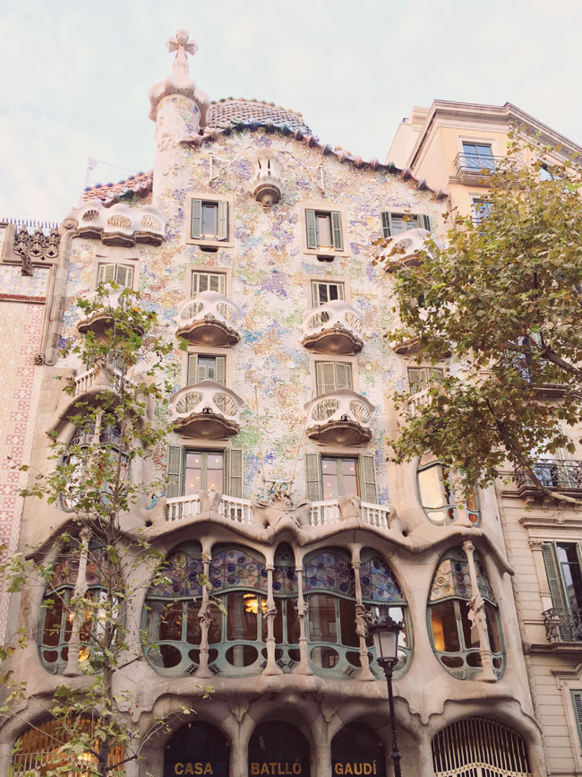 Barcelona in 3 days - Barcelona travel guide - Casa Batllo - Gaudi