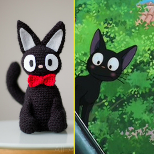 Jiji The Black Cat - Free Pattern