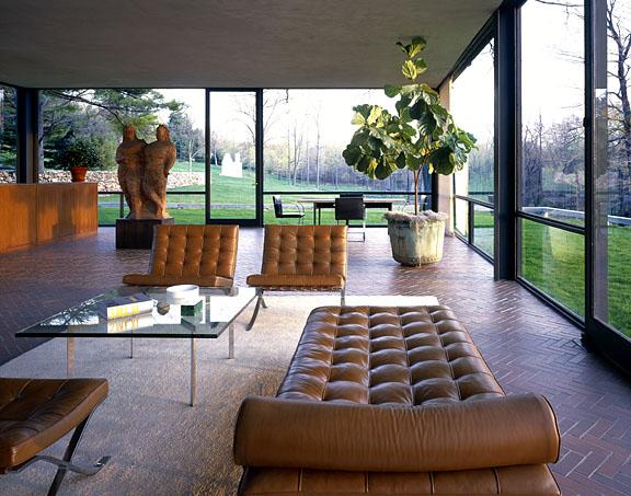 Aujourd´hui Valéry: Glass House_by Philip Johnson