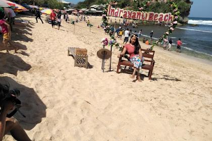 Lokasi Rute Wisata Pantai Indrayanti dan Tiket Masuk
