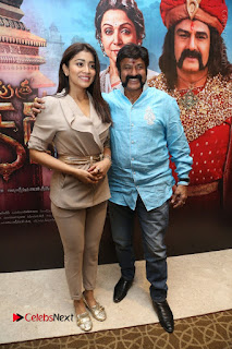 Shriya Saran Nandamuri Balakrishna at Gautamiputra Satakarni Team Press Meet Stills  0101.JPG