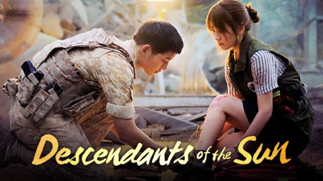 Descendants of The Sun Lokanan Song Joong-ki Menerima Anugerah Drama Siri Terbaik Asia
