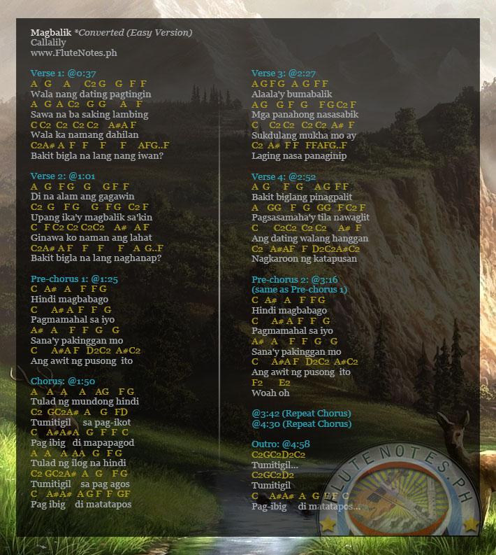 Callalily - Magbalik Lyrics | MetroLyrics