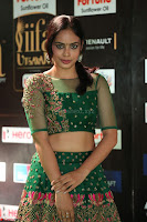 Nandita Swetha in a tight Green Choli Ghagra at IIFA Utsavam Awards March 2017 ~ 058.JPG
