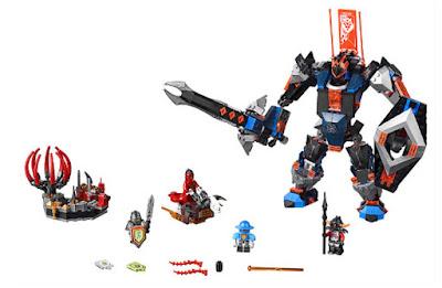 TOYS : JUGUETES - LEGO Nexo Knights  70326 Robot del Caballero Negro  The Black Knight Mech  Producto Oficial 2016 | Piezas: 530 | Edad: 8-14 años  Comprar en Amazon España & buy Amazon USA
