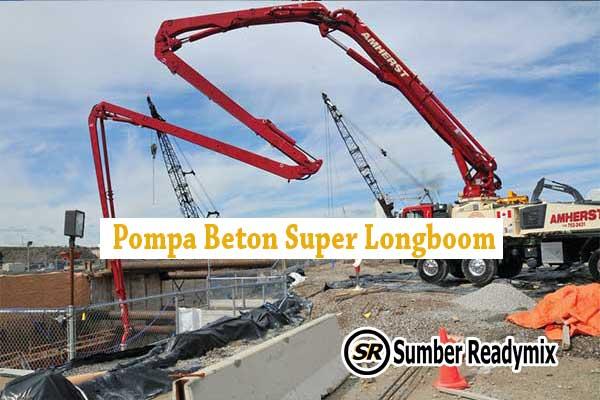 Pompa Beton Super Longboom Bogor