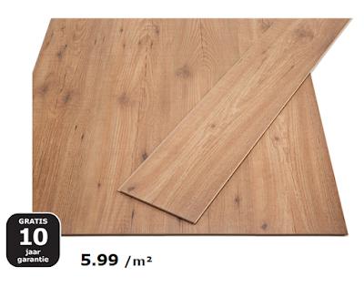 Ikea Tundra laminaat