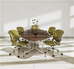 Elliptical Conference Tables