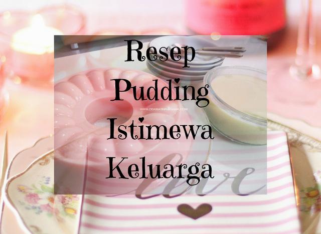 resep pudding coklat