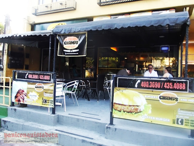 CHAMPS BURGER in Maginhawa Street, Quezon City