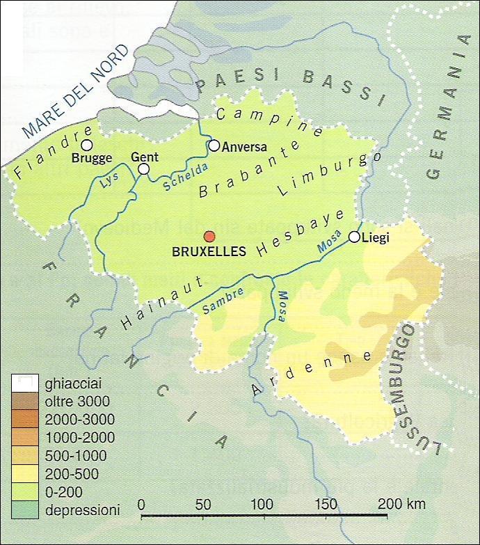 Cartina Fisica Belgio.Chi Viaggia Impara Immagini Dal Mondo Belgio F