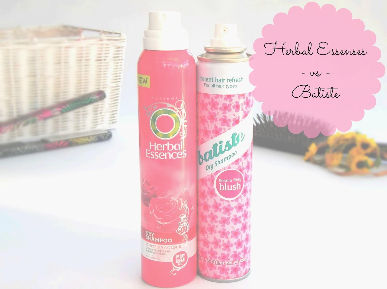 1d930ea4b445d Megaaanii   Herbal Essences - vs - Batiste dry shampoo