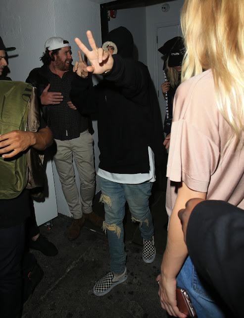 Justin Bieber y Rita Ora se van de fiesta juntos (FOTOS + VIDEO)