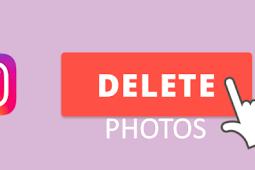Delete Instagram Photo