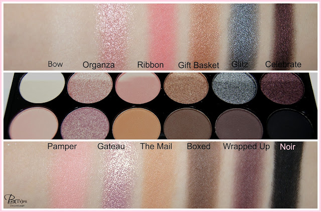 Sleek oh so special swatch