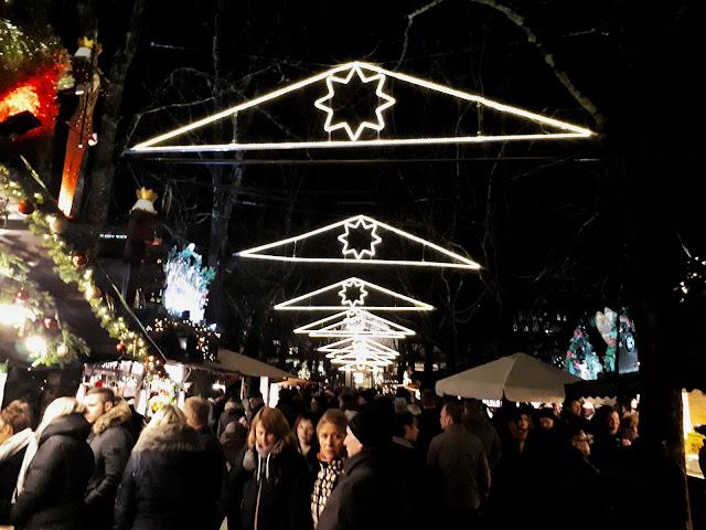 Baden-Baden Christmas market atmosphere