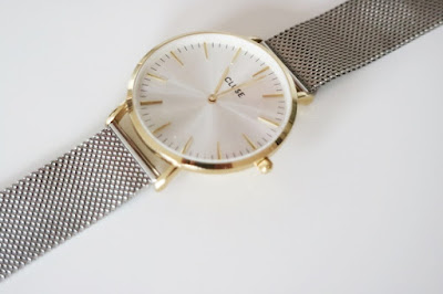 www.josieslittlewonderland.de - New In Cluse La Bohéme Mesh - cluse watches, bicolor, gold &silver watch, meshwatch