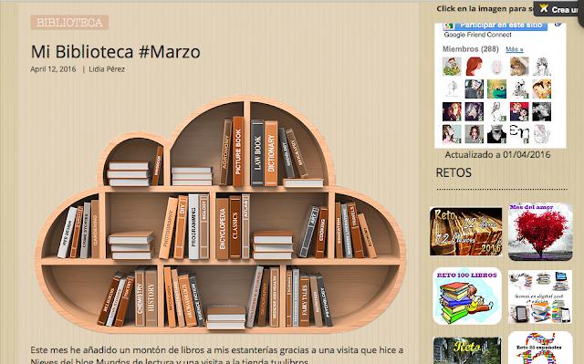 http://yerathel41.wix.com/agarratevienenlibros#!Mi-Biblioteca-Marzo/ulspz/570ac2cb0cf29719a383ed60