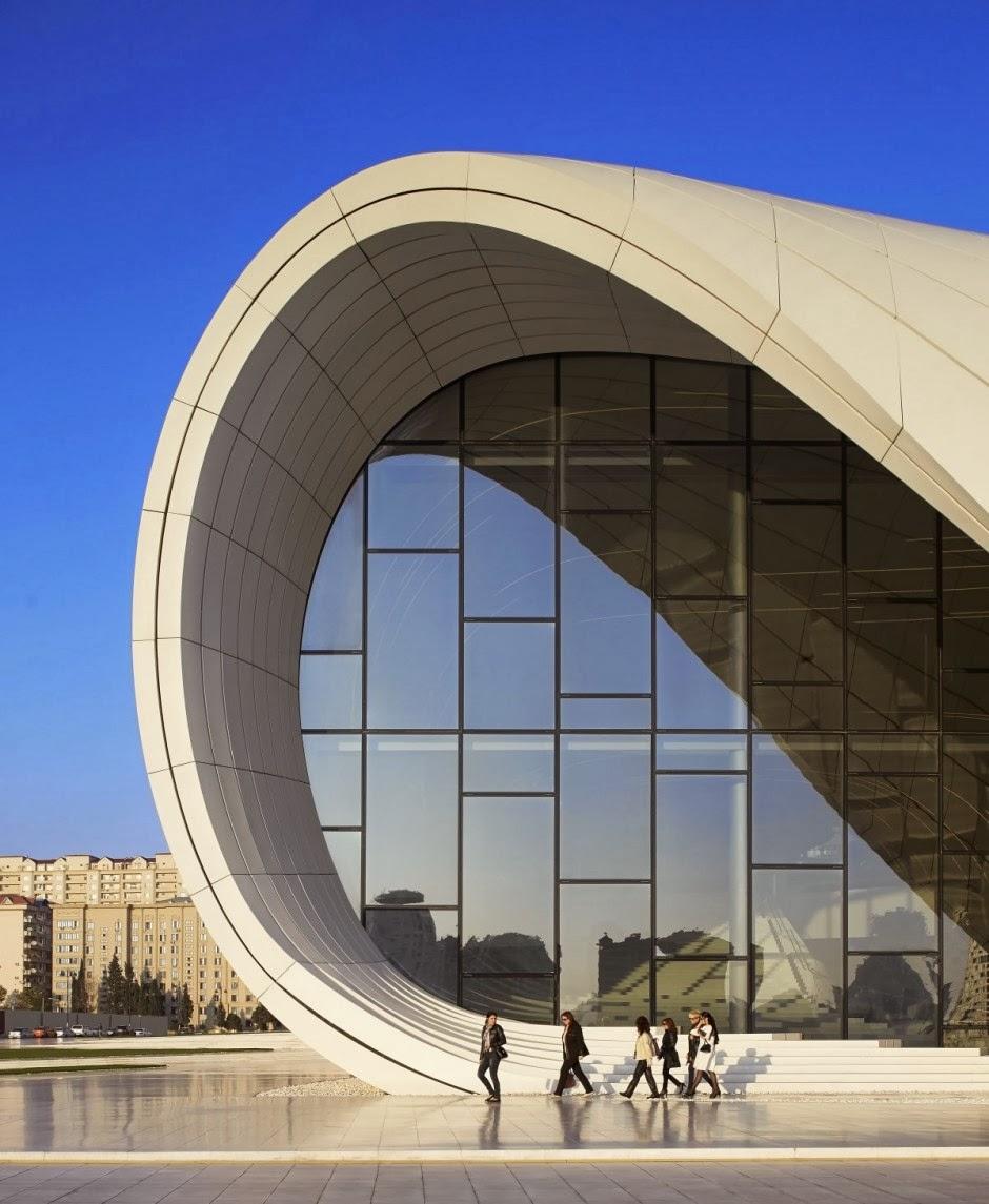 Centro heydar aliyev zaha hadid architects revista arquitectura y dise o inspirate con - Arquitectura y diseno ...