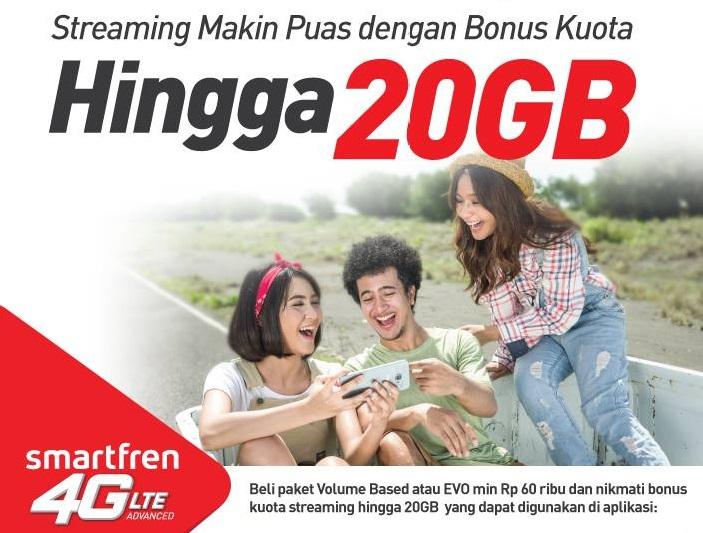 Paket Internet Streaming Smartfren