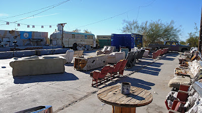 El club The Range de Slab City