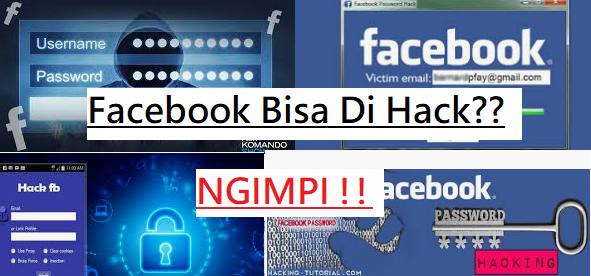 Cara membobol facebook orang lain