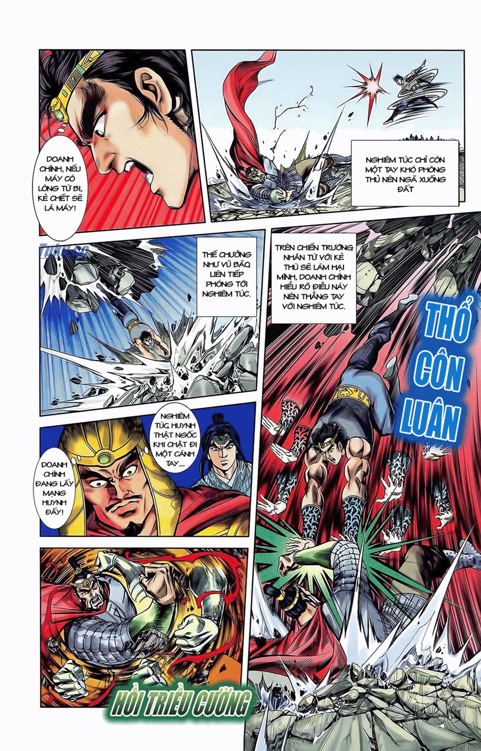 Tần Vương Doanh Chính chapter 11 trang 7