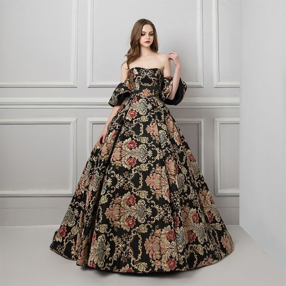 ef6d94c60a45 Ammcobus || Black prom gown uk
