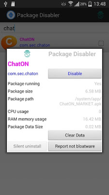 Package Disabler Pro