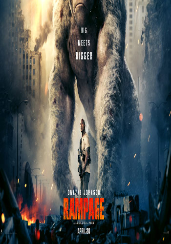 RAMPAGE 2018- Hollywood Movie Official Trailer 1 HD Poster