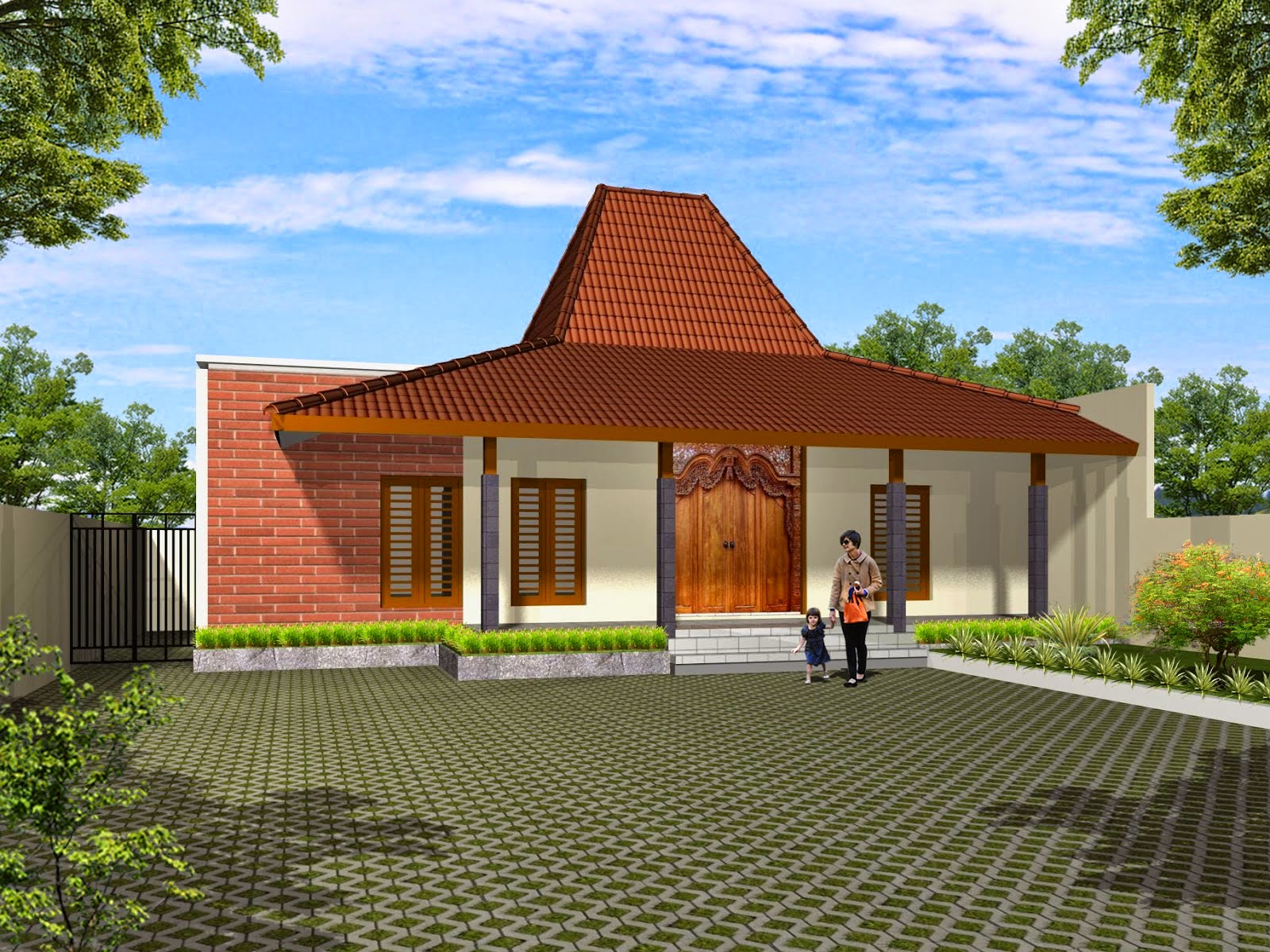 Rumah Joglo Jawa Modern Rumah Joglo Limasan Work