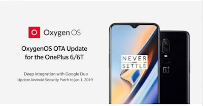 OnePlus 6 and 6T Gets Latest OxygenOS Updates