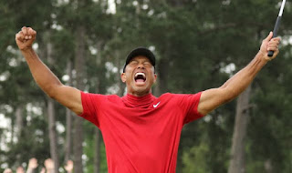 Tiger Woods nail his first major title in 11 years.