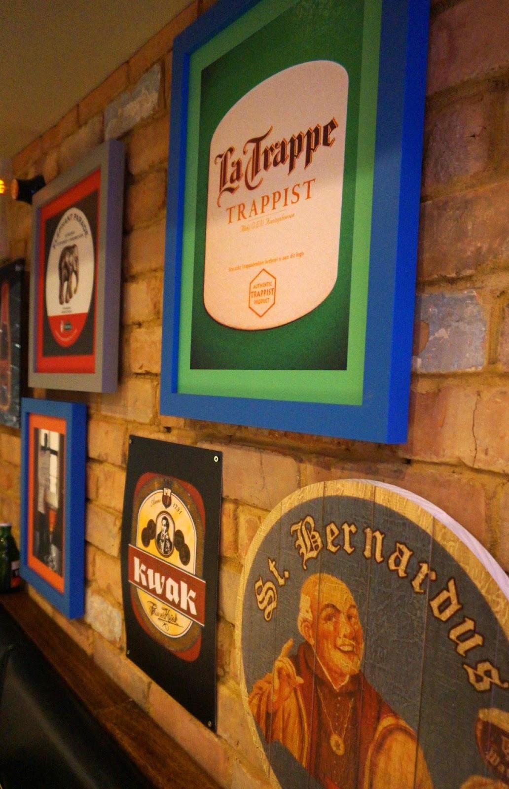 Inside Belgo Restaurant