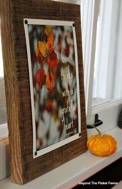 fall sign, free printable, give thanks sign, https://goo.gl/JLG2gQ