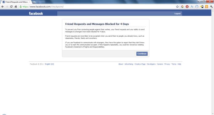 Cach vuot Checkpoint Facebook