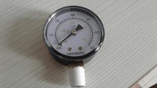 Pressure gauge - filter kolam renang