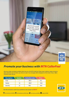 How To Activate MTN Caller Feel Service, Activation Code