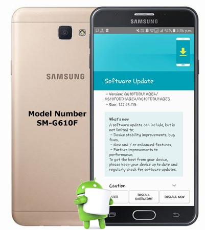 Download Firmware Galaxy J7 Prime SMG610M