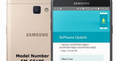 Samsung Galaxy J7 Prime SM-G610F 8 1 0 Oreo [Official Update