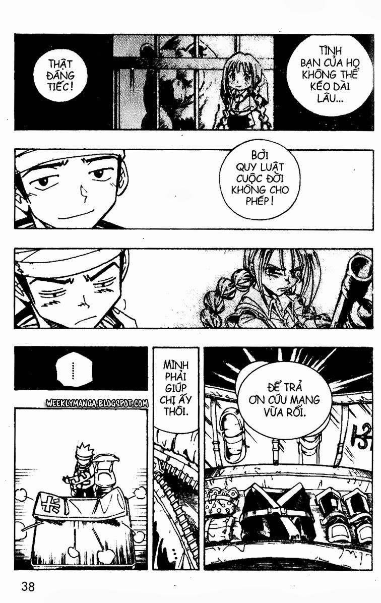 Shaman King [Vua pháp thuật] chap 92 trang 13