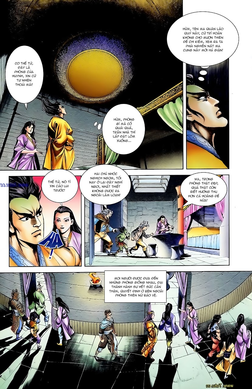 Cơ Phát Khai Chu Bản chapter 112 trang 18