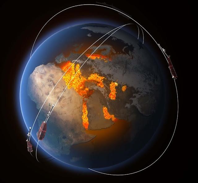 تبادل قطبي الأرض المغناطيسيين