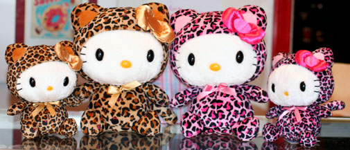 Hello kitty animal print